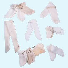 Vintage Socks for Small Dolls