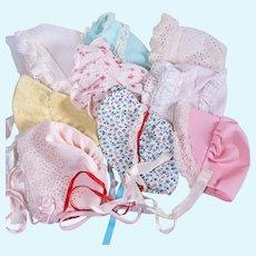 Vintage Bonnets for Larger Dolls