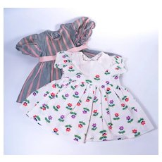 Vintage Dresses for Larger Sized Young Girl Dolls
