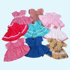 """Vintage Dresses for 7 - 8"""" Dolls"""