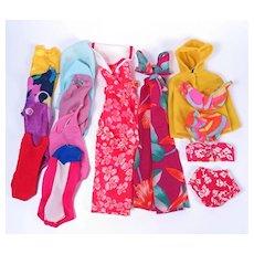 1970's & 1980's Barbie Swimwear