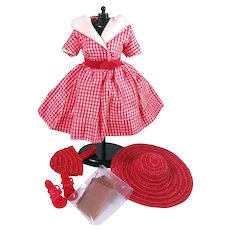 """Vintage Factory Outfit for 10 1/2"""" Fashion Dolls"""