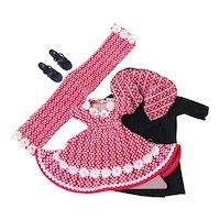 Little Miss Revlon Coat and Dress Set by Ideal