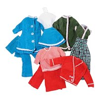 Vintage Corduroy Outfits for Barbie & Tammy