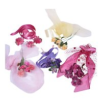 Vintage Millinery For Fashion Doll Hats