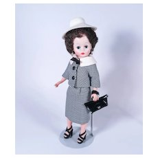 Bubble Cut Cissette in Original Hounds-tooth Suit by Madame Alexander