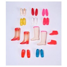 Mod Francie Shoes and Boots by Mattel