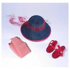 Little Miss Revlon Hat and Accessories