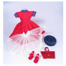 Miss Nancy Ann Original Outfit #303 from 1958
