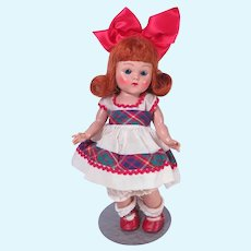 Fiery Red Hair Strung Ginny doll by Vogue