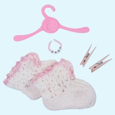 Tiny Tears, Betsy Wetsy, Dy-Dee Booties and Bracelet
