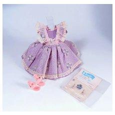 Little Miss Revlon Pinafore Dress #9127 by Ideal