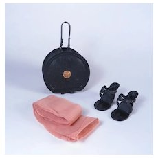 """Vintage Purse, High Heels and Nylons for 18 - 20"""" Fashion Dolls"""