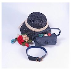 """Premier Purse, Hat and Accessories for 18"""" High Heel Fashion Dolls"""