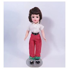 "14"" Mary Hoyer Doll with Original Metal Stand"