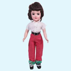 """14"""" Mary Hoyer Doll with Original Metal Stand"""