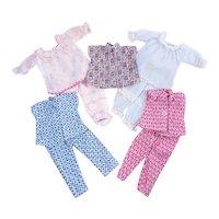 "Vintage 2 Piece Pajama Sets for 10 1/2"" Fashion Dolls"