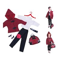 Vintage Barbie and Bild Lilli Style Clone Outfit