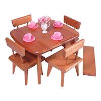 Strombecker Dinning Set with Table Leaf for Ginny Cissette