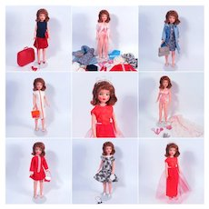Red Hair Tammy Doll with Vintage Wardrobe