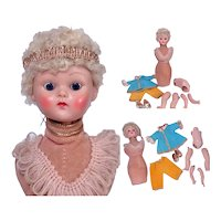 New Old Store Stock GInny Head Pin Cushion Doll