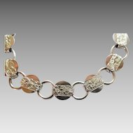 "Sarah Coventry "" Young and Gay"" bracelet  6 3/4"""