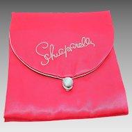 Schiaparelli Premium Satin hosiery jewelry travel lingerie bag