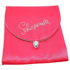 Schiaparelli Premium Satin hosiery jewelry travel lingerie bag