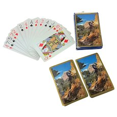 Glacier National Park Montana Playing Cards
