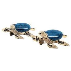 Pair of Gerrys Turtle pins