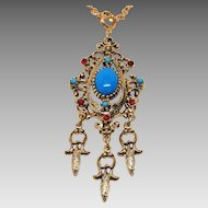 Renaissance Revival Necklace by Celebrity N. Y.