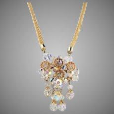 Amazing Juliana Austrian Crystal Necklace Bobbles