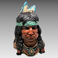 NAtive American Chief Bust