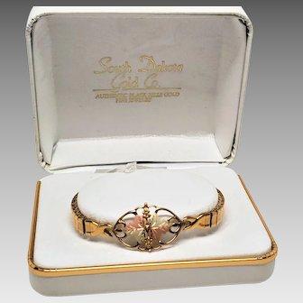 10K Black Hills Gold Expansion Bracelet still in Box