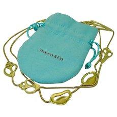 Vintage 18K Angela Cummings Tiffany & Co. Sea Shell Necklace