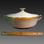 Lenox Aristocrat Gold Encrusted Covered Vegetable