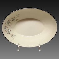 Mid-Century Lenox Wyndcrest A500 Oval Vegetable Bowl