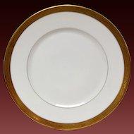 Raynaud Ceralene Ambassodor Gold Dinner Plate
