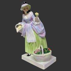 """Lovely Royal Doulton """"Spring Flowers"""" HN1807 Figurine"""