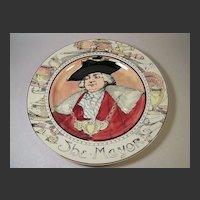 Vintage Royal Doulton-The Mayor-Professional Series 3rd Firing