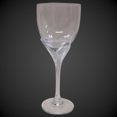 Rosenthal Studio Linie Iris Frosted Stem Crystal Red Wine Goblet