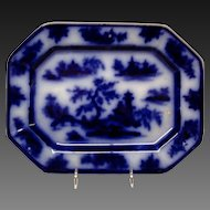 John Wedge Wood Chapoo Flow Blue Platter