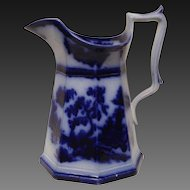 Rare John Wedge Wood Chapoo Flow Blue Tall Water Pitcher