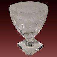 Stunnning William Yeoward Leonora Water Goblet