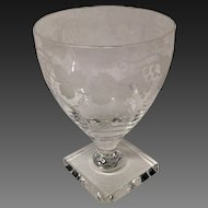Stunnning William Yeoward Leonora Water Goblet