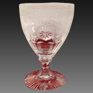 Stunnning William Yeoward Pearl Water Goblet