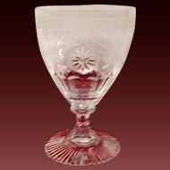 Stunnning William Yeoward Pearl Water Goblet