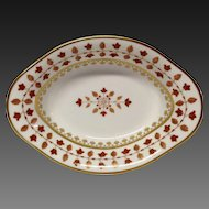 Haviland Parlon Limoges Matignon-Rust Oval Vegetable Bowl