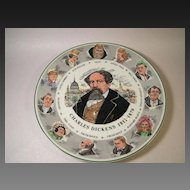Vintage Royal Doulton Charles Dickens Character Plate TC 1042