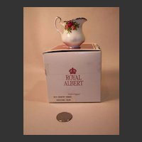 Royal Albert Old Country Roses Miniature Creamer with Box